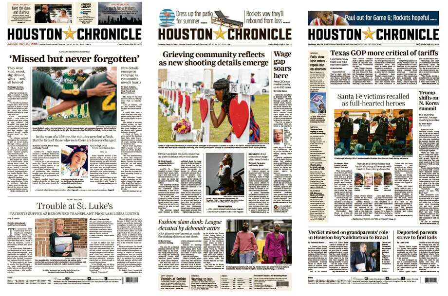 Chronicle named Texas Newspaper of the Year - Houston Chronicle