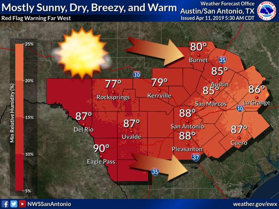 NWS Heat breaks 50-year temp record in South Texas - San Antonio