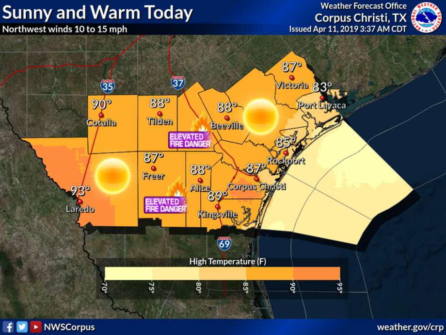 NWS Heat breaks 30-year temp record in South Texas - Laredo Morning