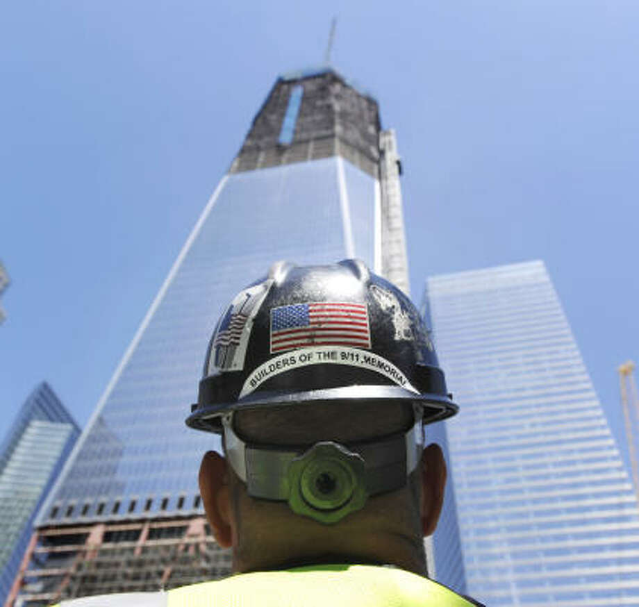 Hat Stand Freedom A Show Of Strength After 9 11 Freedom Tower Will Stand Tall