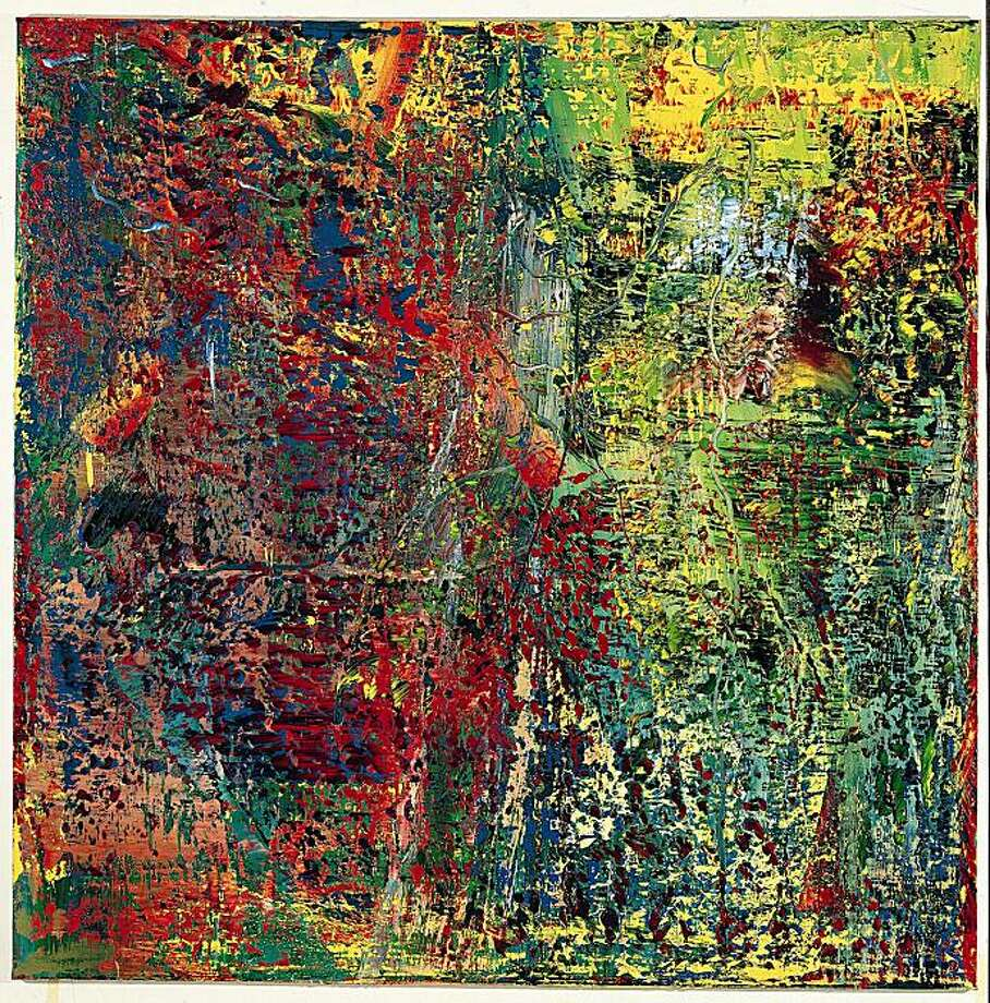 Abstrakte Bilder Gerhard Richter What To Make Of Abstract Picture Sfgate