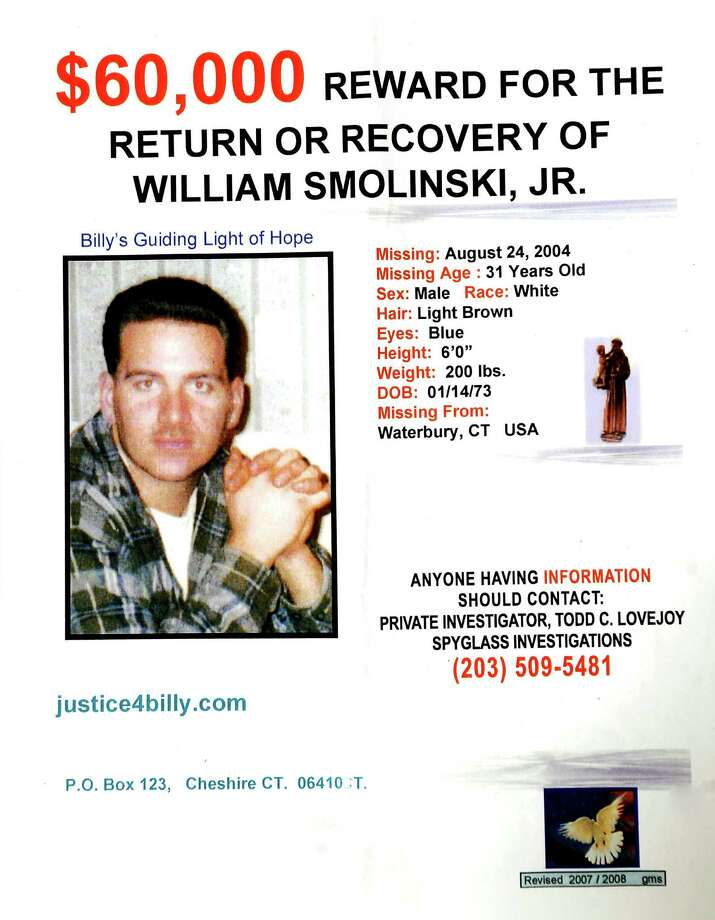 Investigation back on in case of missing man - Connecticut Post - missing person flyer
