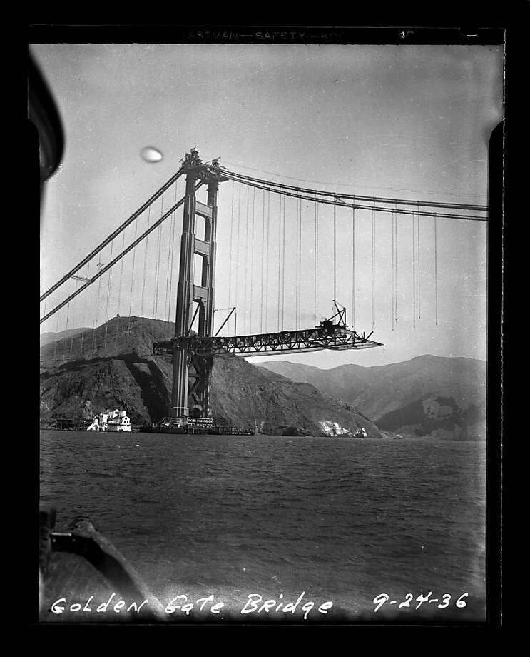 Span of time Key dates in Golden Gate Bridge history - SFGate