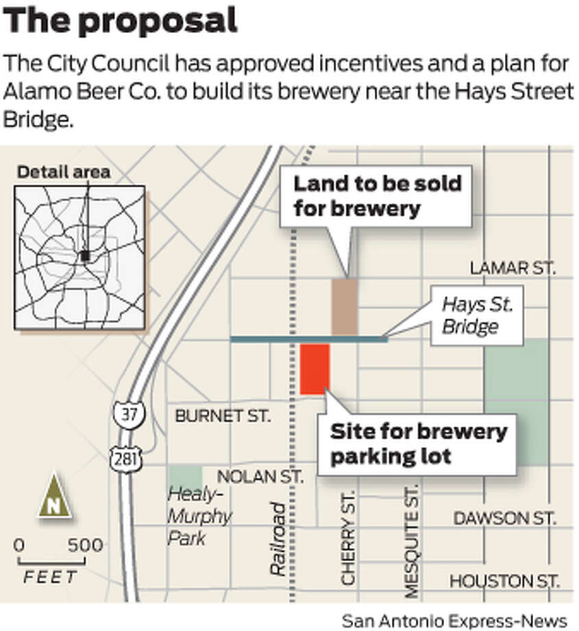 Brewery now on tap for East Side - San Antonio Express-News