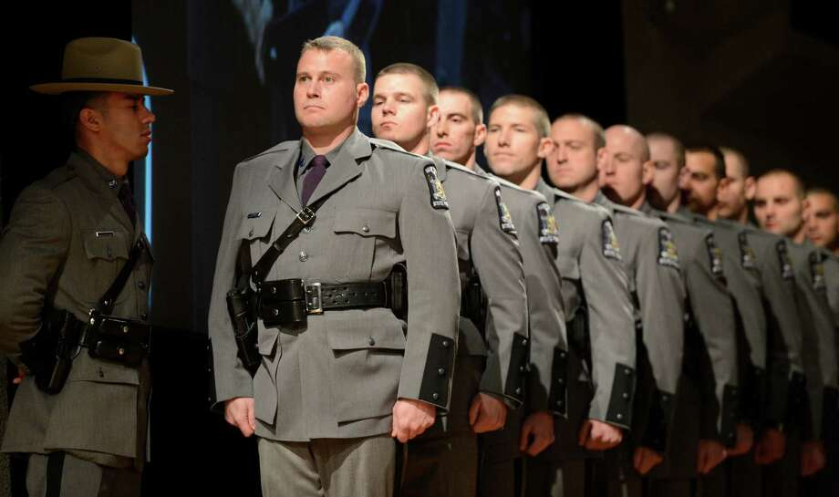 Troopers graduate in first class since \u002709 - Times Union - Nys University Police
