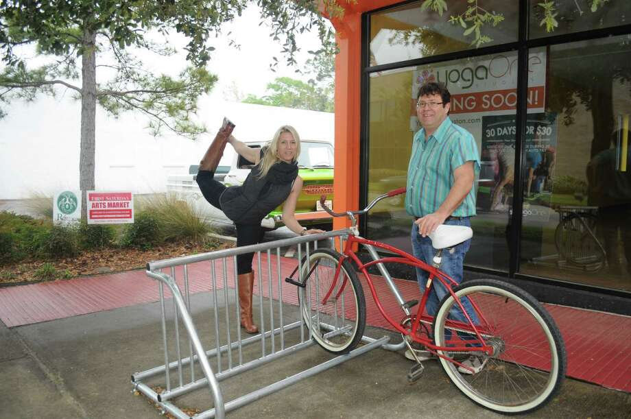 Push On To Place More Bike Racks In Heights Houston