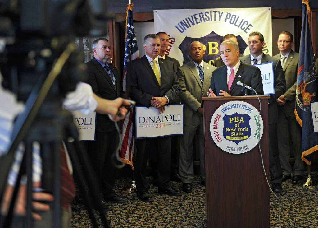 State PBA gets behind DiNapoli for re-election - Times Union - Nys University Police