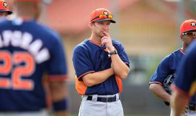 After taste of coach's life, Astros' Everett hungry for ...