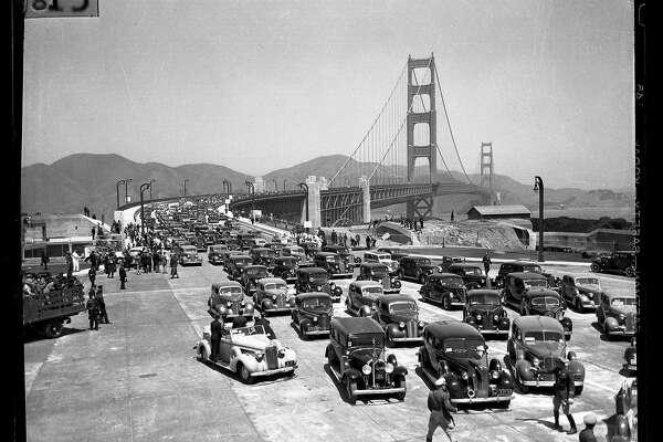 Golden Gate Bridge, Bay Bridge history Two iconic spans that link