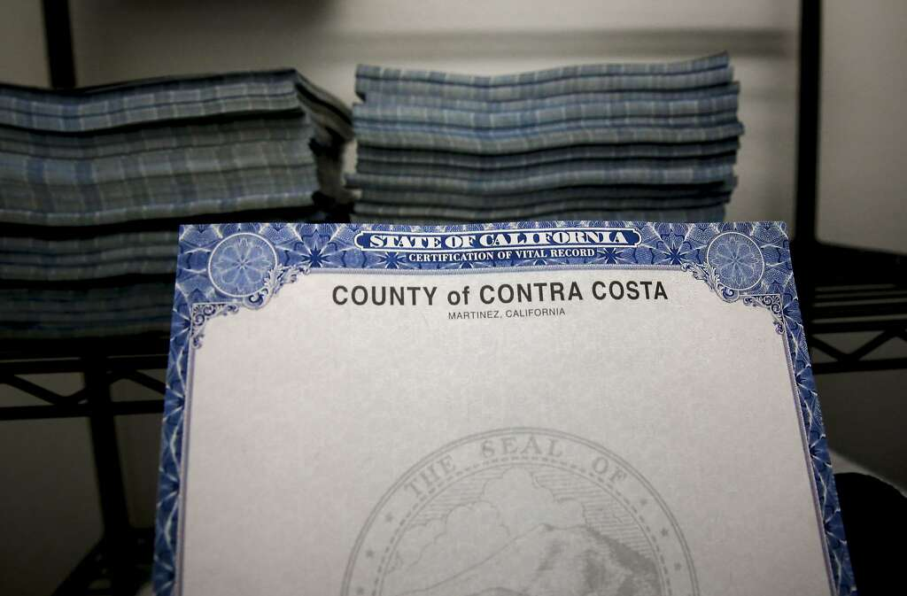 Counties scramble to produce records amid security paper shortage - best of alameda county birth records