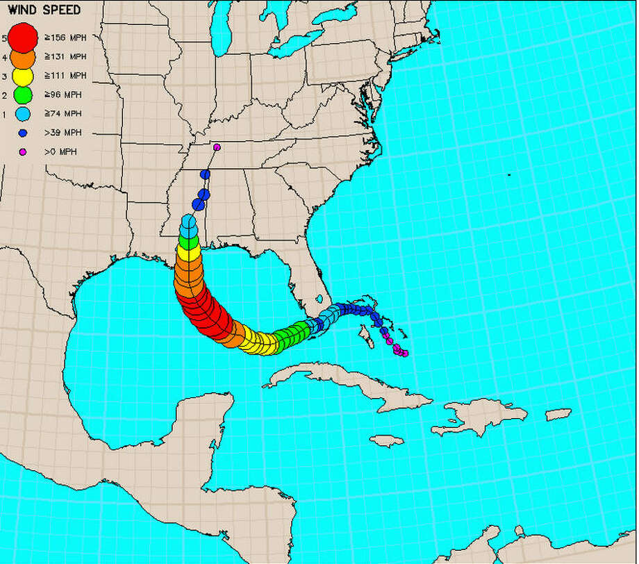 16 maps and charts that show Hurricane Katrina\u0027s deadly impact