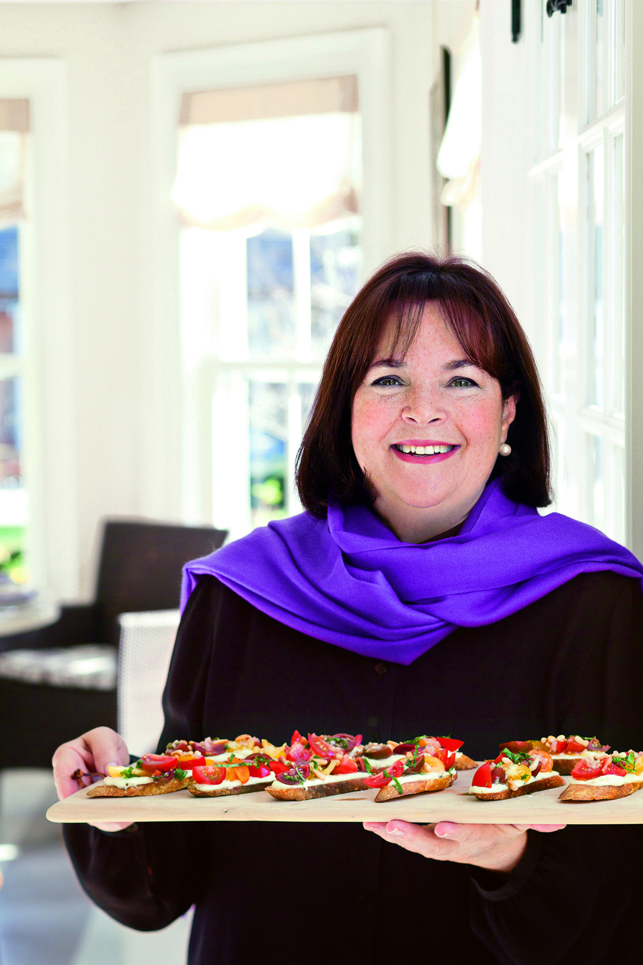 Ina Garten Bars Q A Ina Garten Brings Barefoot Contessa Message To Houston