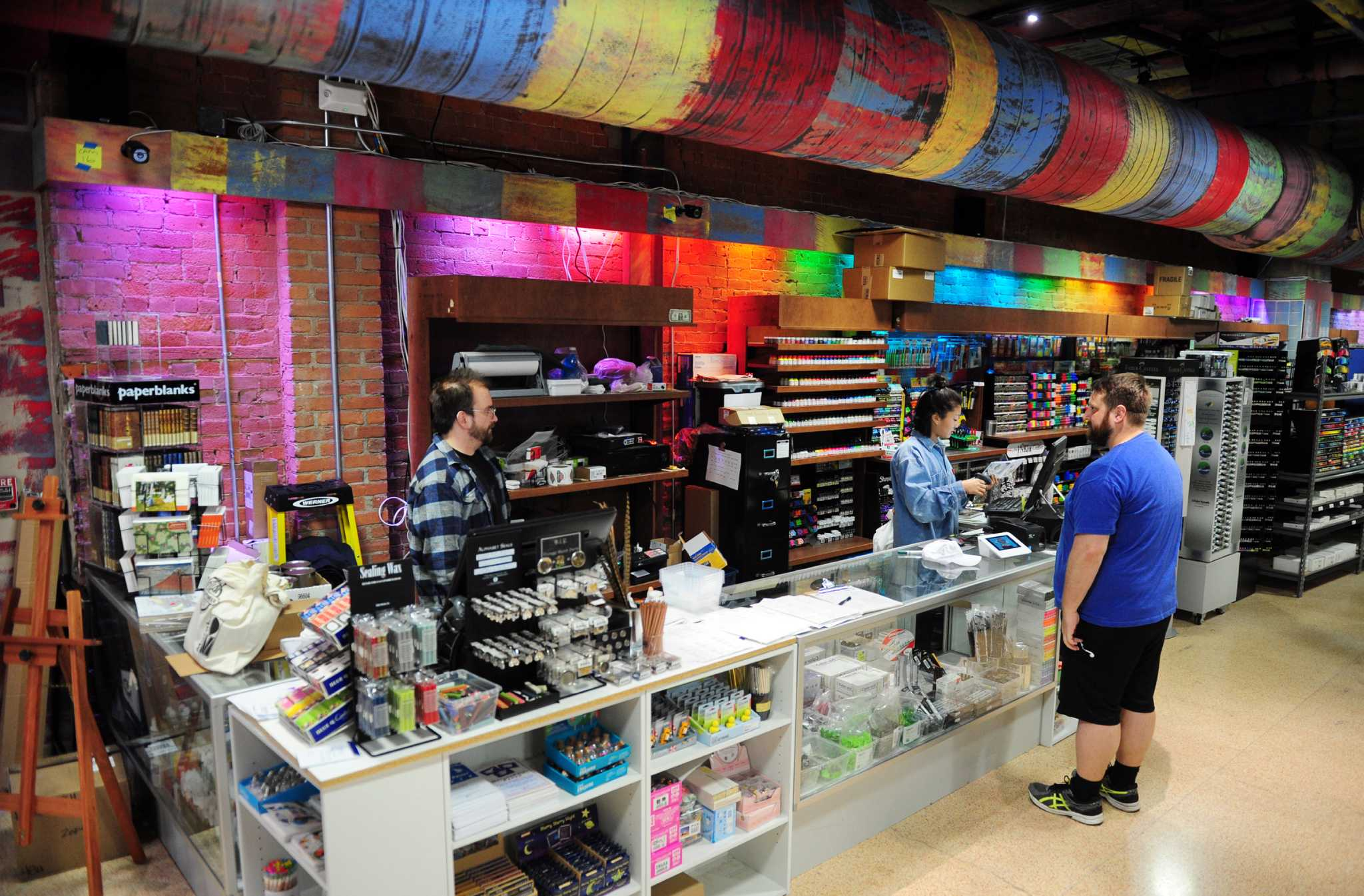 Art Store National Arts Supply Store Opens In Downtown Bridgeport
