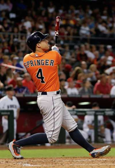 George Springer continues rampage for Astros - Houston ...