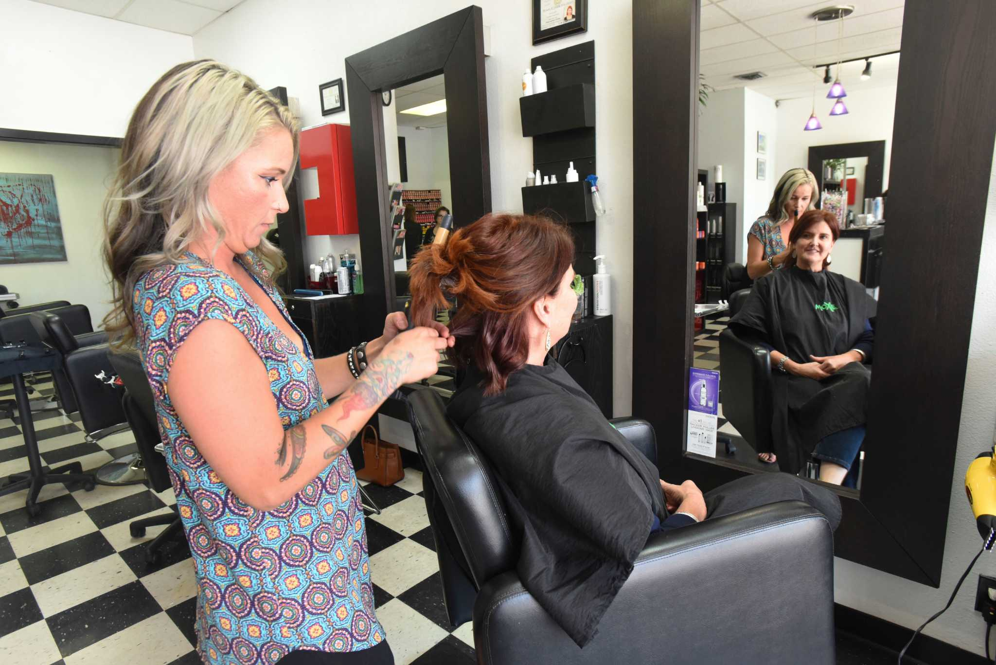 Salon Hair Readers Choice Voters Name Moxie Hair Salon No 1 Hair Salon In