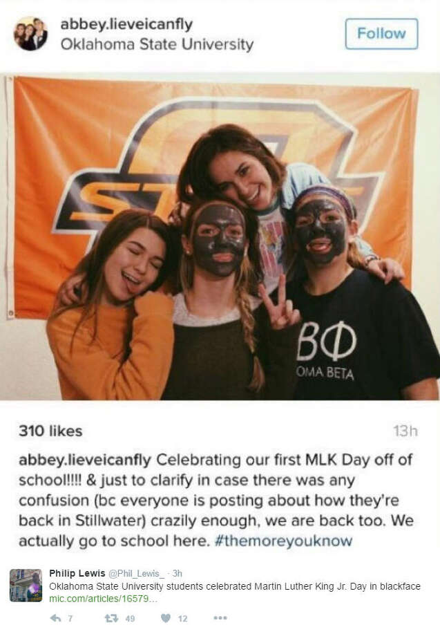 Oklahoma State University students in hot water following