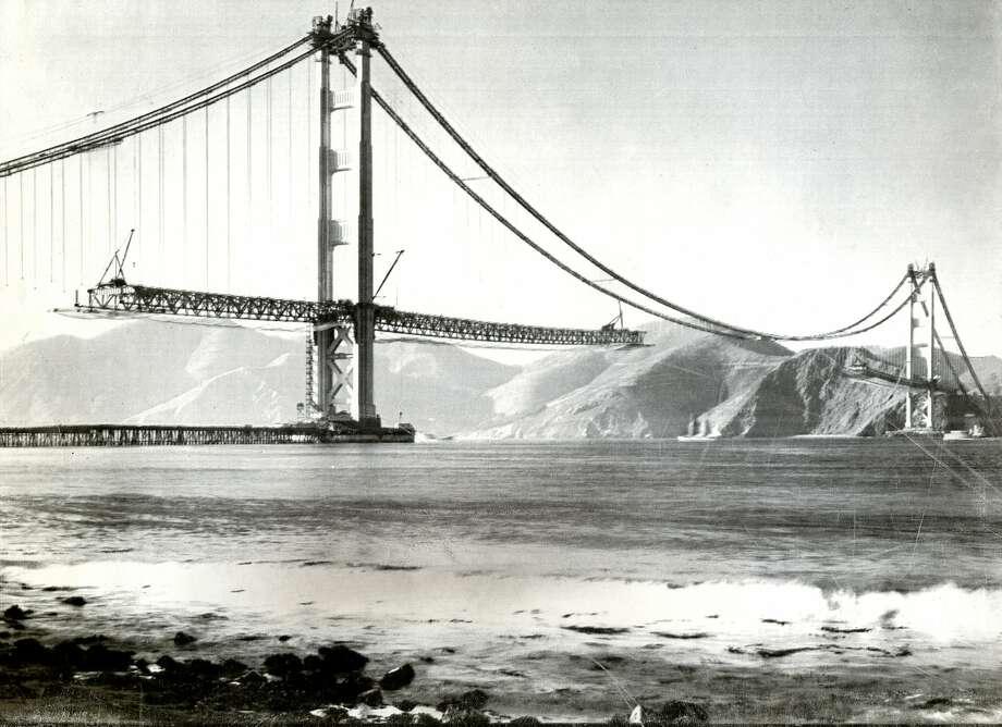 85 years ago, construction began on the Golden Gate Bridge - SFGate