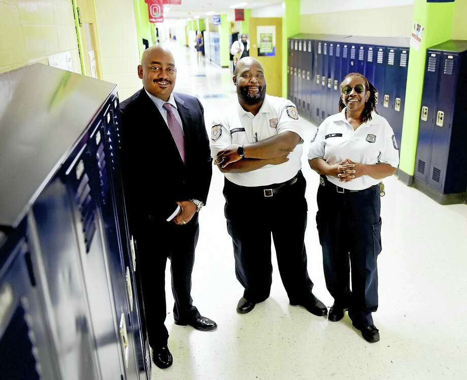 New Haven school security officers keep peace in mission for student