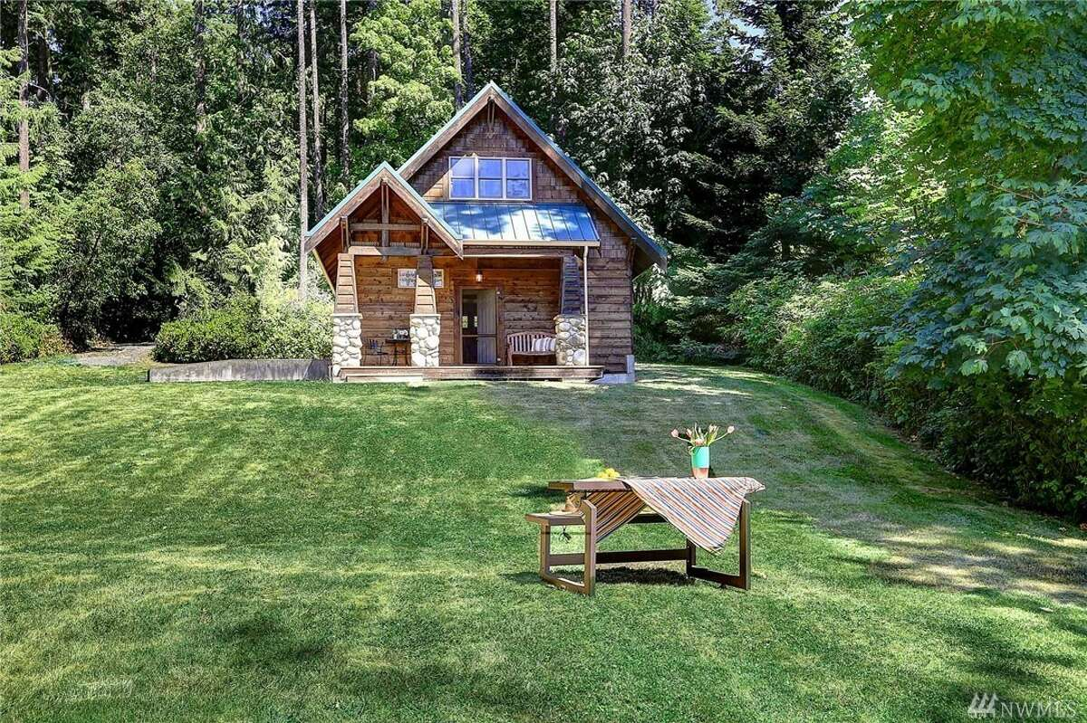 This Camano Island Log Cabin Is A Dream Come True Vacation Property