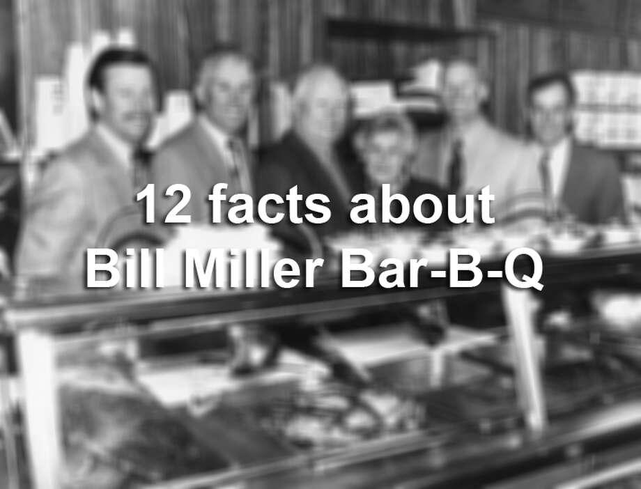 12 things to know about San Antonio\u0027s Bill Miller Bar-B-Q - San