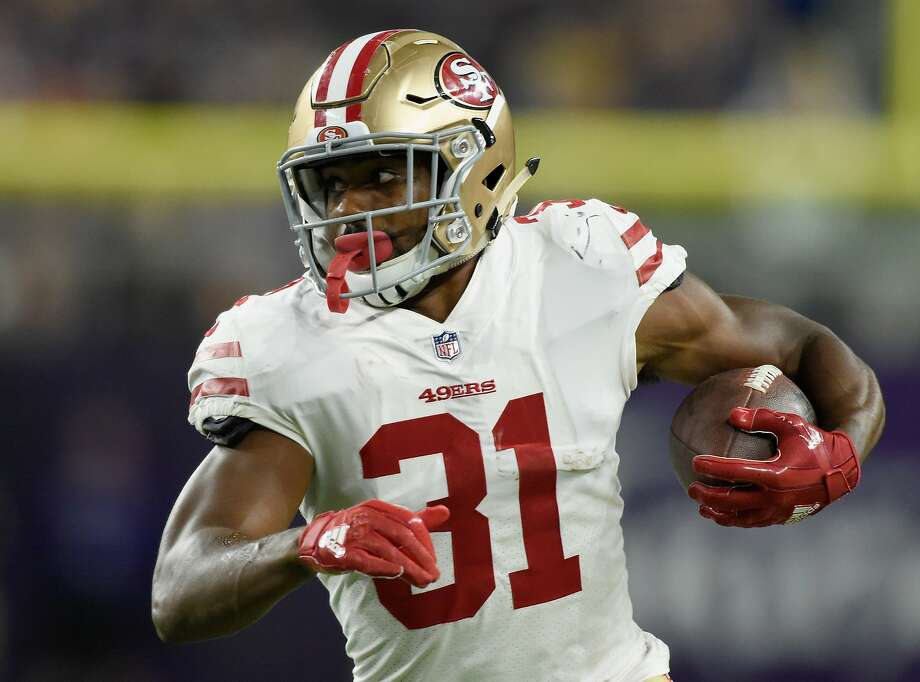 49ers RB Mostert making late run for roster spot - SFGate