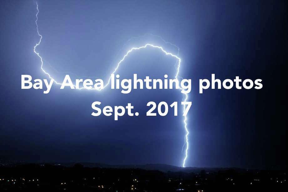 Bay Area sees 1,200 lightning strikes in rare September