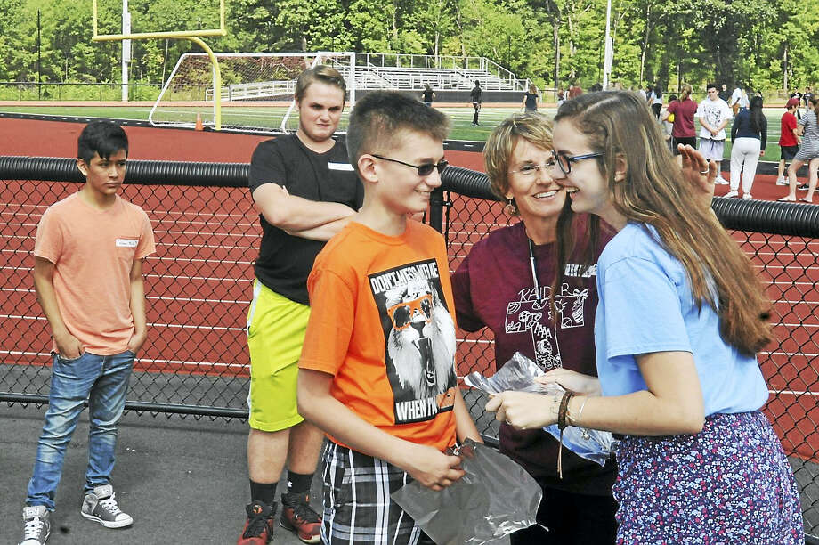 Torrington High School welcomes freshman class with games, pizza