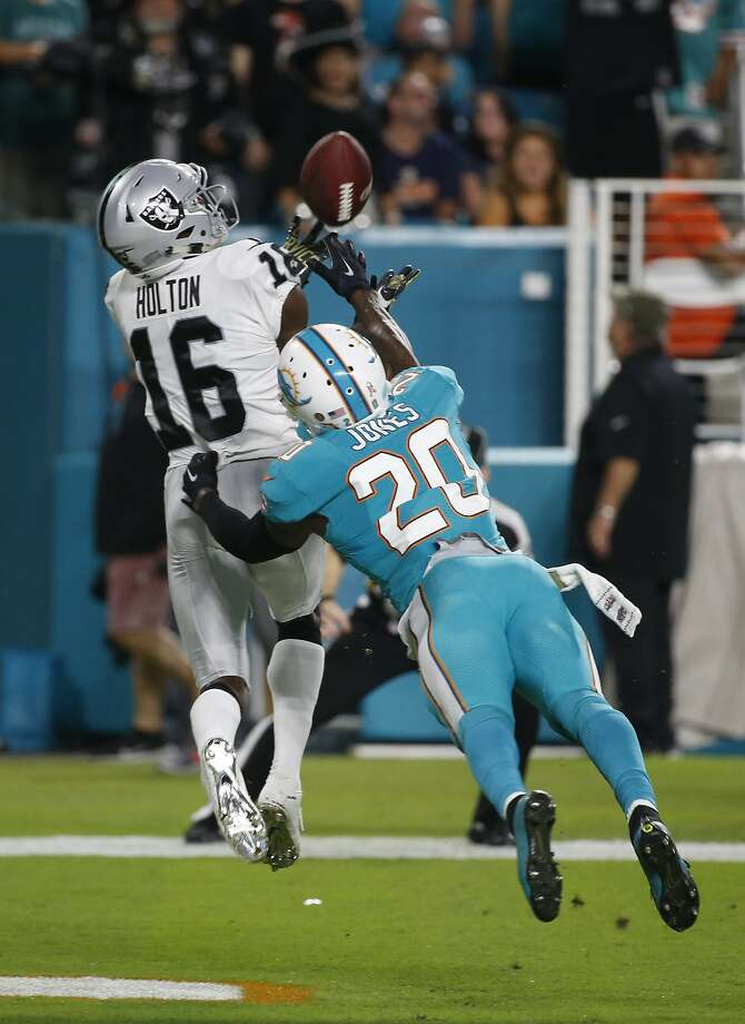 Raiders receiver Johnny Holton is a deep threat \u2014 when used - SFGate