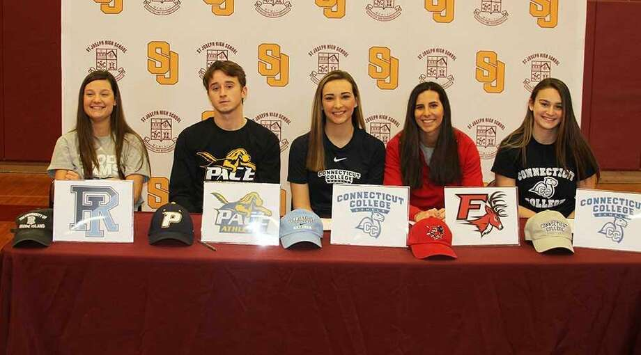 Signing day at St Joseph - Connecticut Post