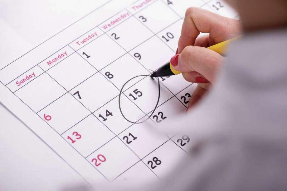Business calendar - Houston Chronicle