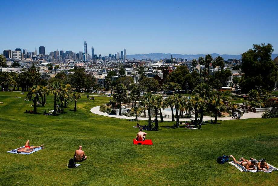 Which San Francisco neighborhood has the sunniest weather? Locals