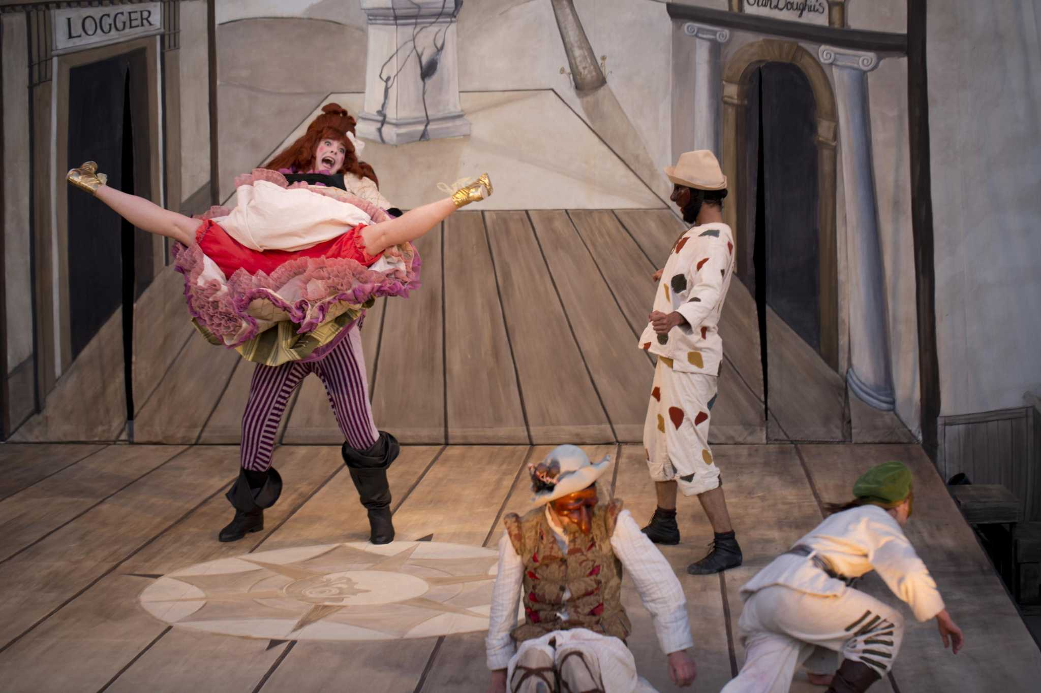Commedia Dell'arte Word Meaning Dell Arte International Does Commedia Dell Arte For A Change Sfgate