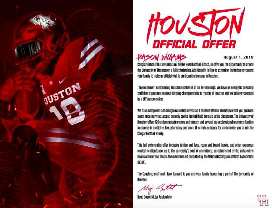 A look at this year\u0027s college football scholarship offers - Houston
