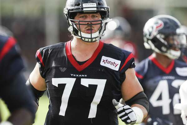 David Quessenberry, free of cancer, working for spot on Texans