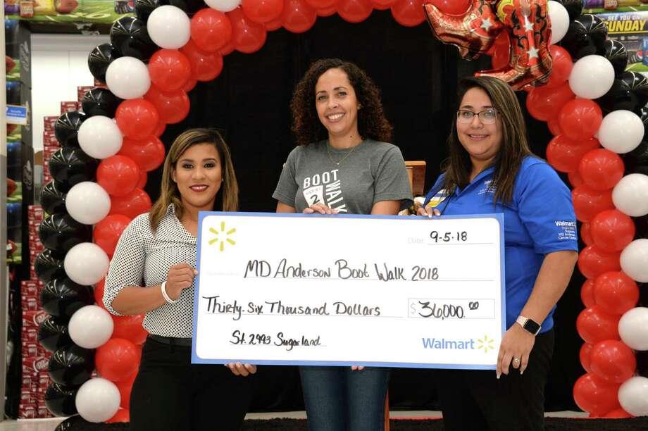 Sugar Land Wal-Mart tops MD Anderson fundraising challenge - Houston