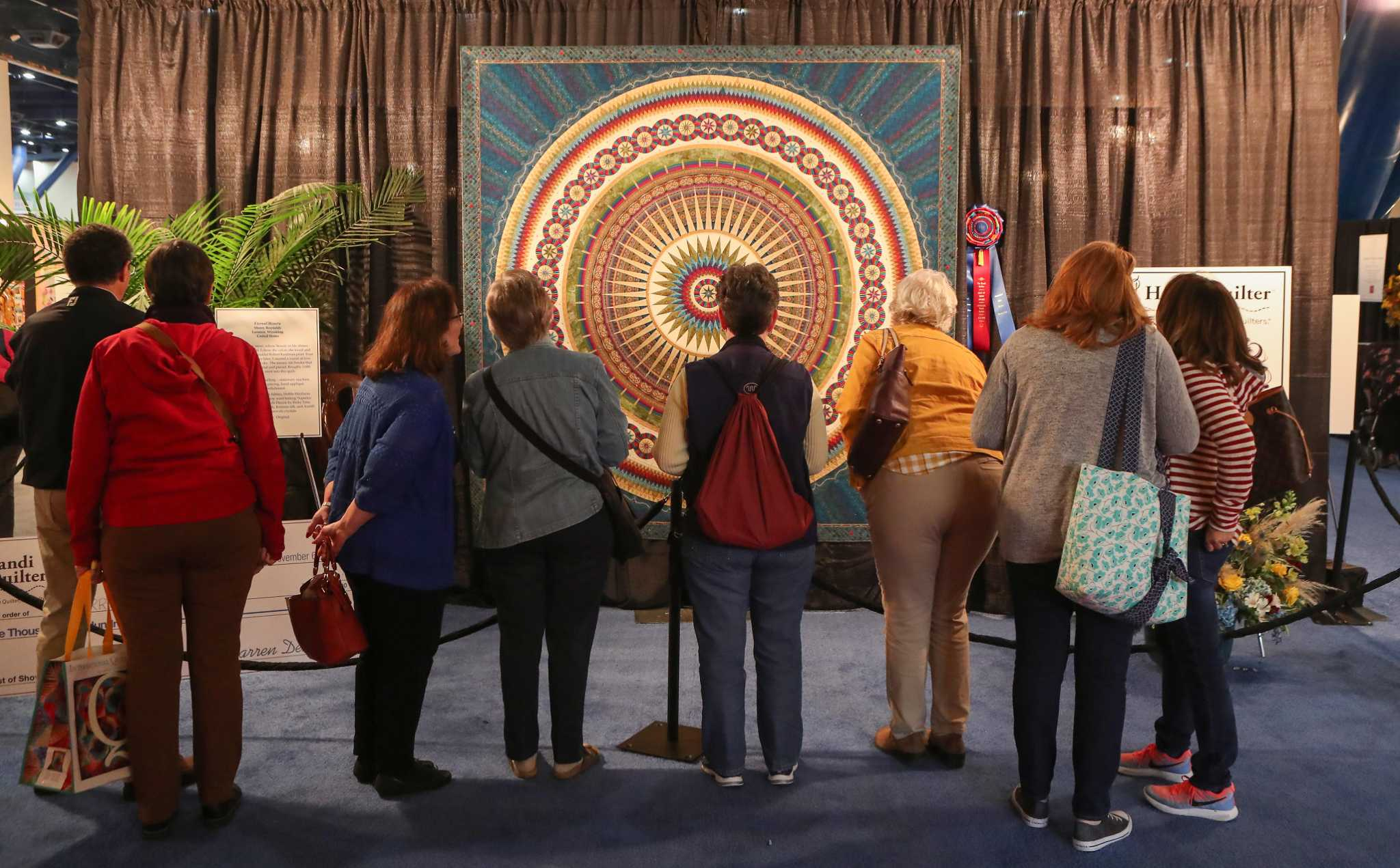 Quilt Festival Birmingham Largest U S Quilting Festival Draws Enthusiasts From Around The