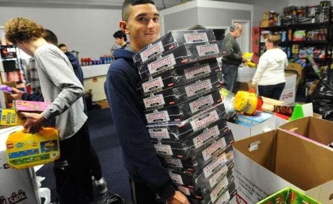 Bridgeport Community Helps Replenish Toys For Tots