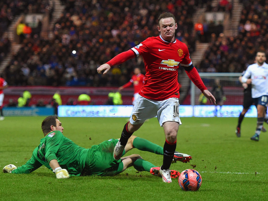 Preston Angleterre Fa Cup Acutalités Rooney Sorry For Dive Preston Goalkeeper