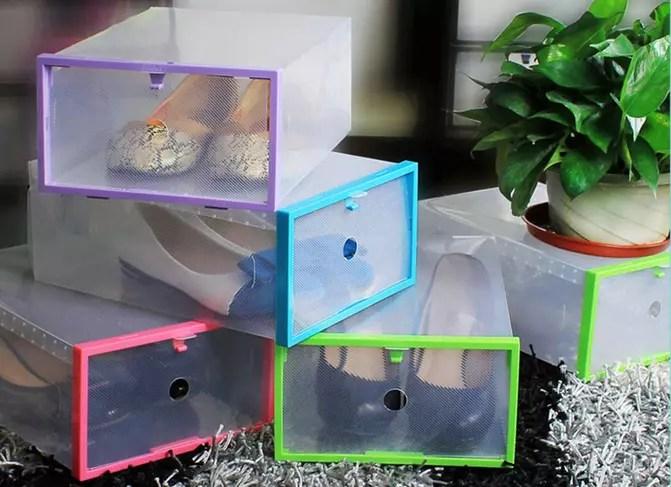 Jual Kotak Sepatu Transparan Kaskus