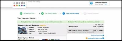 Hotel Booking Via AGODA Discount Promo Kartu Kredit KASKUS