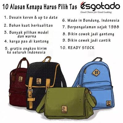 Esgotado Tas Bandung Ransel Backpack Selempang Vintage Denim Kanvas