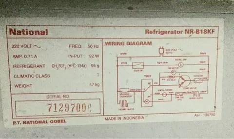 Wiring Diagram Kulkas 2 Pintu Toshiba Wiring Diagram, Honda Wiring
