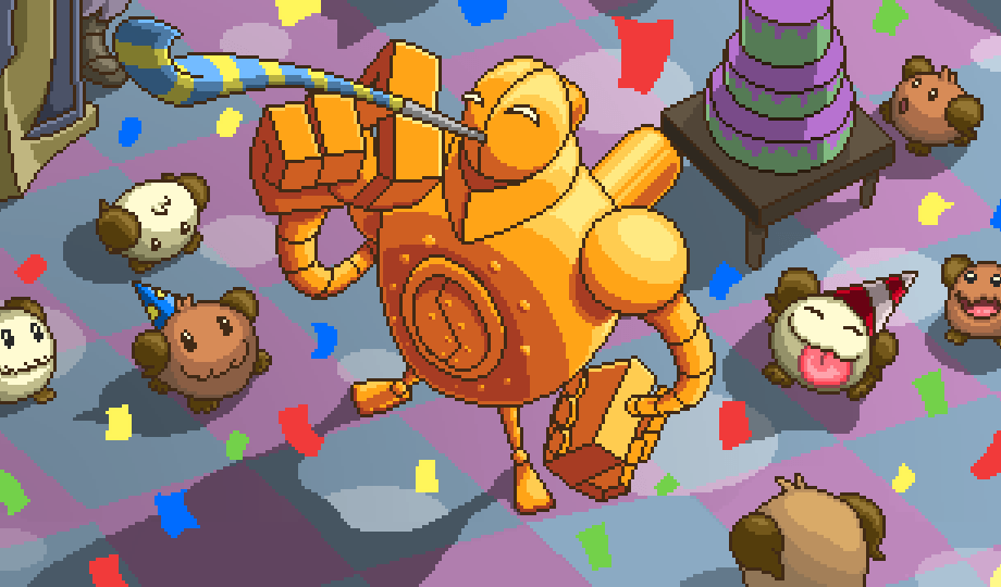 Pororo Cute Wallpaper Arcade League Of Legends