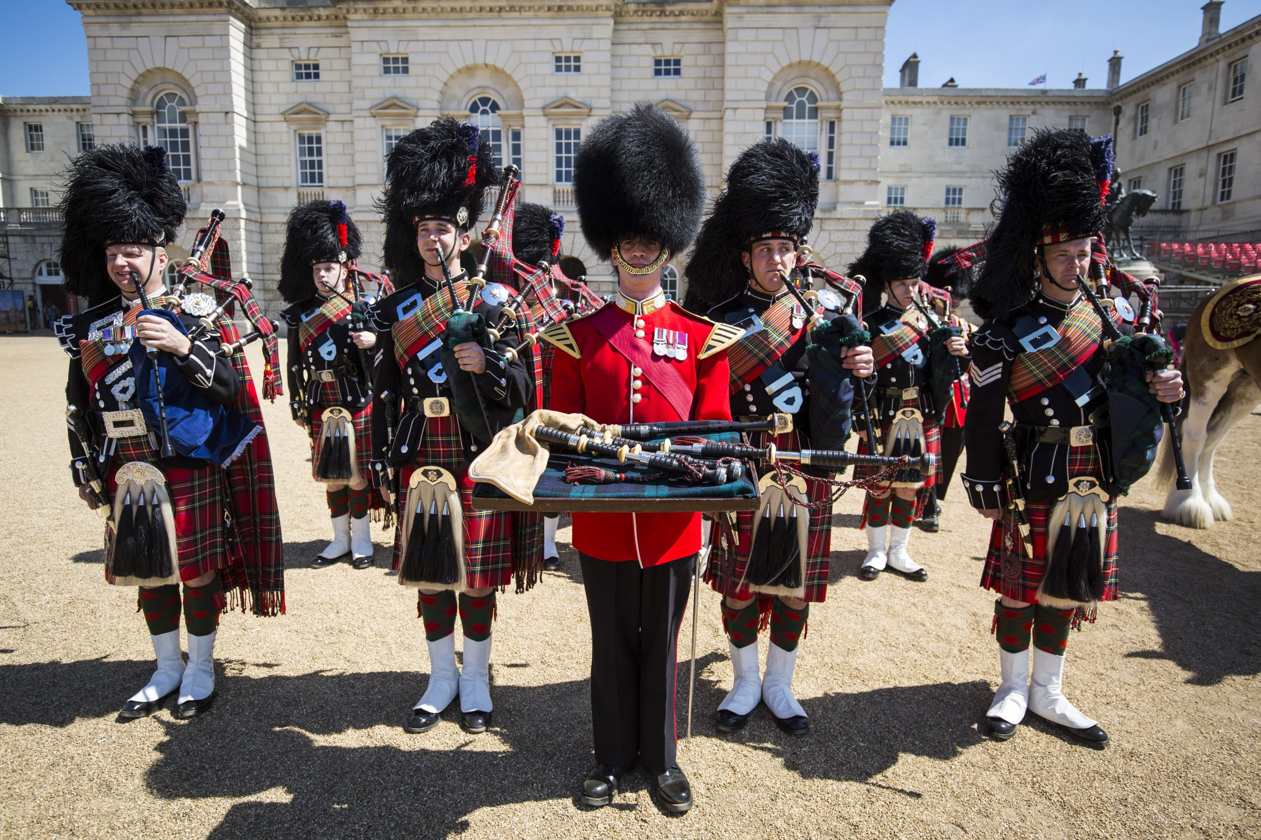 Musicians Urged To Clean Instruments After Bagpiper Dies