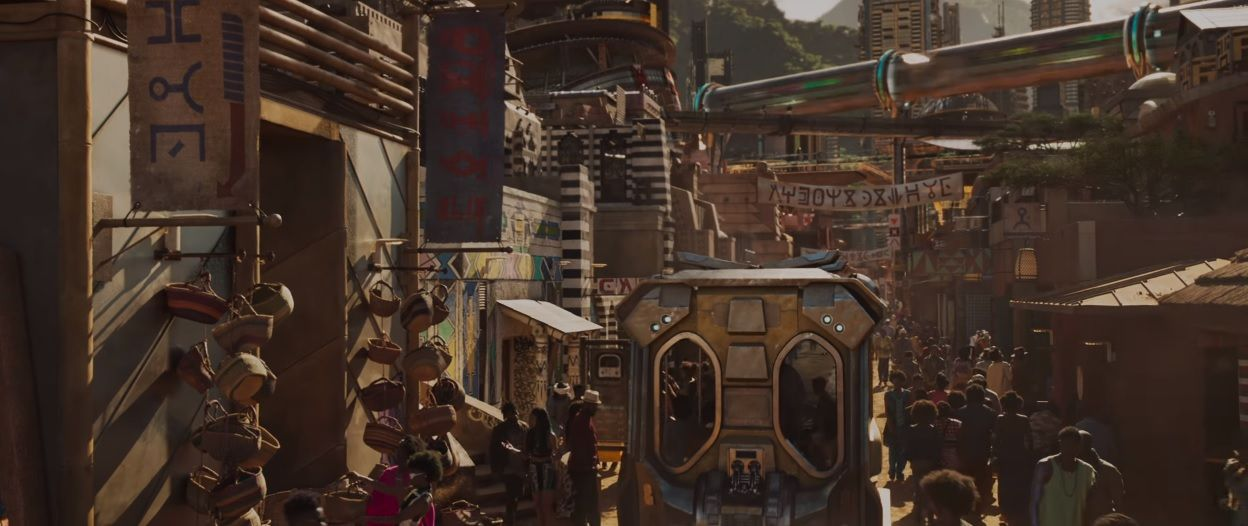 Wallpaper Cars Movie Black Panther Succeeds As Urban Utopia There Are No