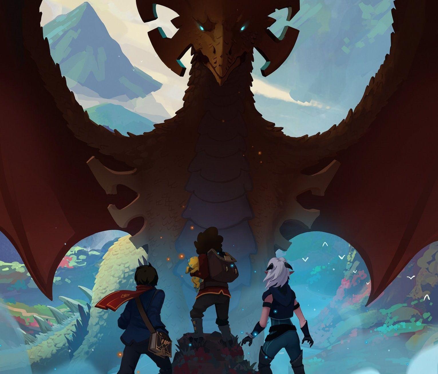 Create Animated Wallpaper Netflix Original Series The Dragon Prince Takes Talent