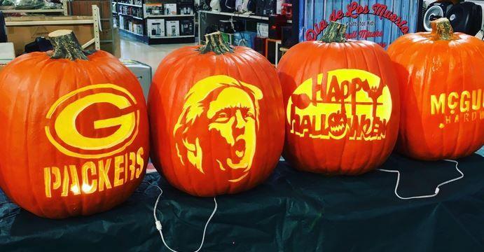Free Fall Pumpkin Wallpaper Trumpkins Carving Donald Trump S Face Into Pumpkins Is