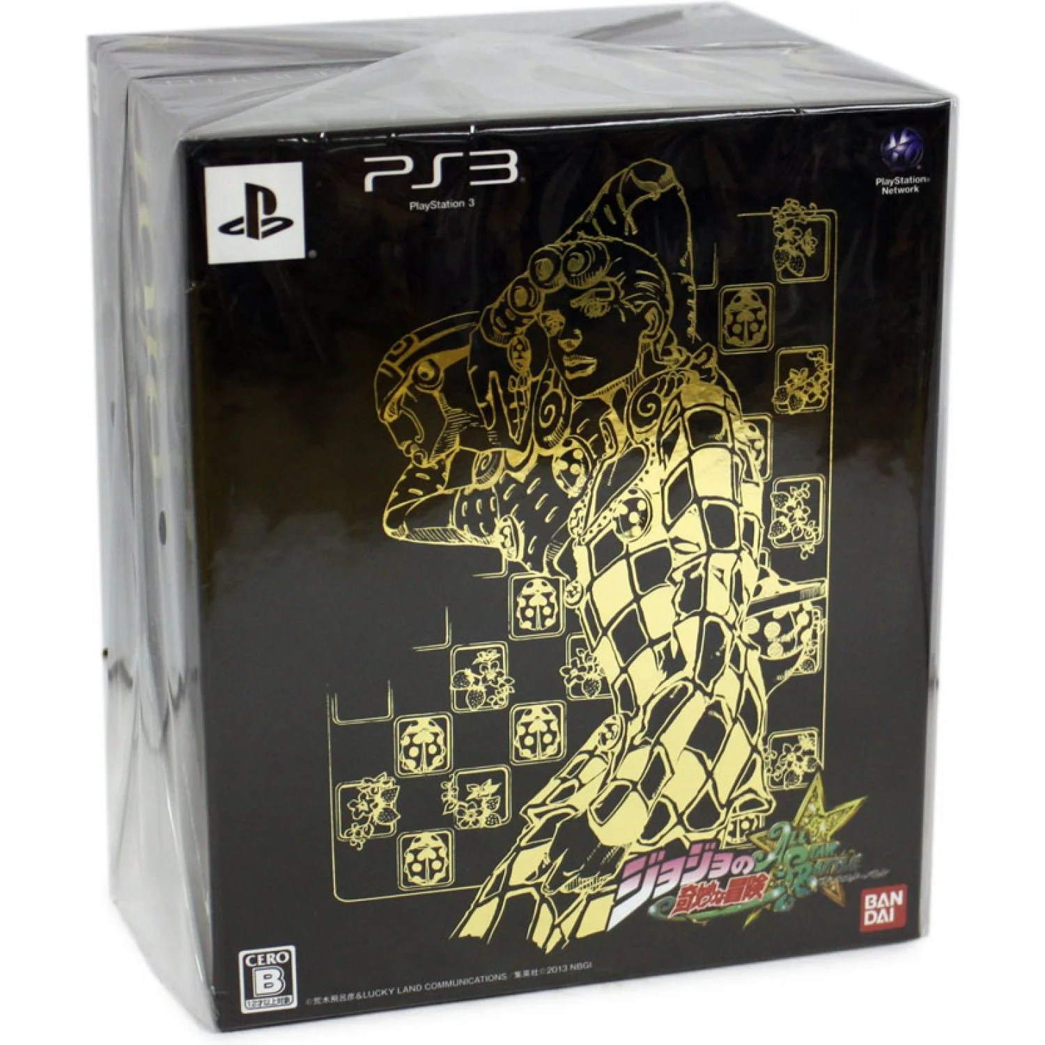 Edition For Ps3 Jojo No Kimyou Na Bouken All Star Battle Limited Edition