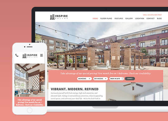 Apartment Website Templates that Perform and Convert RealPage - property management websites templates
