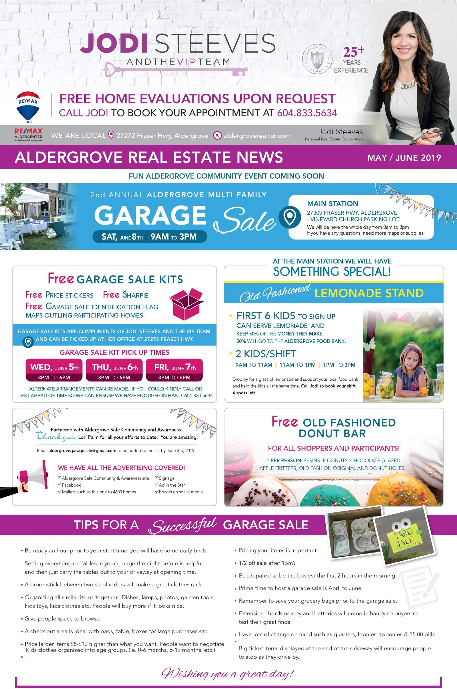 Garage Sale Website Garage Sale Tips And Info Jodi Steeves Jodi And The Vip Team